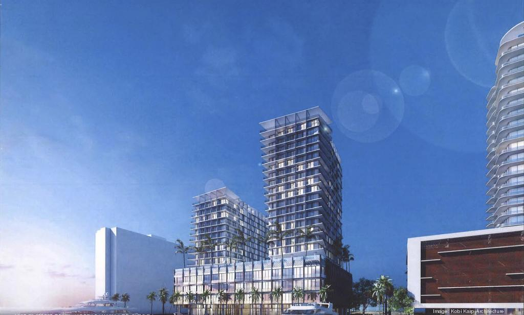 YMP part of proposed two-tower hotel redevelopment with 476 rooms in North Bay Village