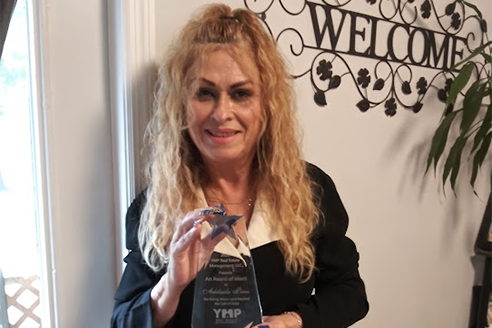 Assistant Property Manager receives Award of Merit